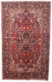 Lillian Rug 155X257 Authentic  Oriental Handknotted Dark Red/Brown (Wool, Persia/Iran)