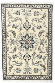 Nain Matta 87X140 Äkta Orientalisk Handknuten Beige/Ljusgrå (Ull, Persien/Iran)