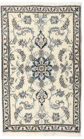 Nain Alfombra 87X140 Oriental Hecha A Mano Gris Claro/Beige (Lana, Persia/Irán)