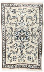 Nain Alfombra 86X138 Oriental Hecha A Mano Beige/Gris Claro (Lana, Persia/Irán)