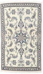 Nain Matta 84X143 Äkta Orientalisk Handknuten Beige/Ljusgrå (Ull, Persien/Iran)