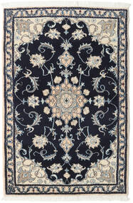 Nain Rug 92X137 Authentic  Oriental Handknotted Dark Purple/Light Grey (Wool, Persia/Iran)