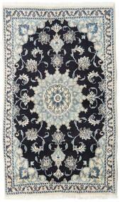 Nain Matta 86X146 Äkta Orientalisk Handknuten Mörkblå/Ljusgrå (Ull, Persien/Iran)