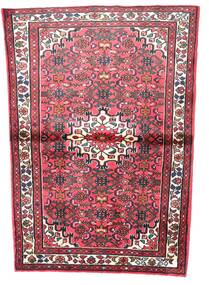 Hosseinabad Rug 106X160 Authentic  Oriental Handknotted Dark Brown/White/Creme (Wool, Persia/Iran)