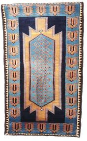 Nahavand Rug 77X131 Authentic Oriental Handknotted Black/Light Brown (Wool, Persia/Iran)