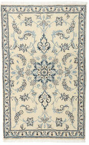Nain Rug 88X140 Authentic Oriental Handknotted Beige/Light Grey (Wool, Persia/Iran)