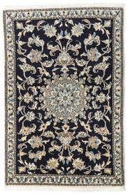 Nain Matta 90X135 Äkta Orientalisk Handknuten Mörkblå/Ljusgrå/Mörkgrå (Ull, Persien/Iran)