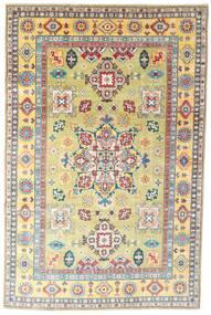 Kazak Dywan 198X304 Orientalny Tkany Ręcznie Ciemnobeżowy/Beżowy (Wełna, Pakistan)