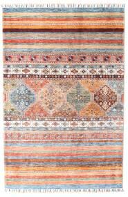 Shabargan Teppe 119X181 Ekte Moderne Håndknyttet Beige/Lys Grå (Ull, Afghanistan)