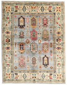 Mirage 絨毯 147X190 モダン 手織り 薄い灰色/ベージュ (ウール, アフガニスタン)