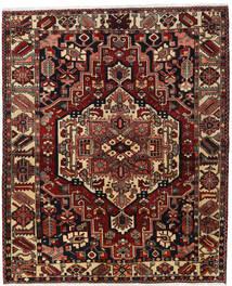 Bachtiar Teppich 170X207 Echter Orientalischer Handgeknüpfter Dunkelrot/Dunkelbraun (Wolle, Persien/Iran)