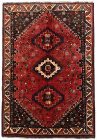 Ghashghai Tappeto 157X230 Orientale Fatto A Mano Rosso Scuro/Marrone Scuro (Lana, Persia/Iran)