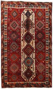 Ghashghai Tappeto 147X245 Orientale Fatto A Mano Rosso Scuro/Marrone Scuro (Lana, Persia/Iran)