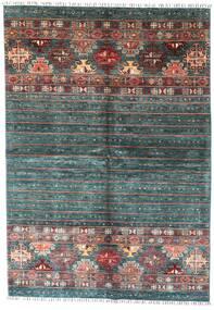 Shabargan Tapis 172X249 Moderne Fait Main Vert Foncé (Laine, Afghanistan)