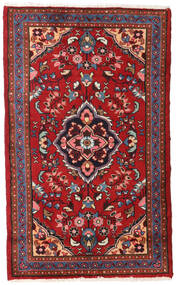 Lillian Rug 79X131 Authentic Oriental Handknotted Dark Red/Rust Red (Wool, Persia/Iran)