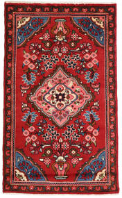 Lillian Rug 76X127 Authentic Oriental Handknotted Dark Red/Rust Red (Wool, Persia/Iran)