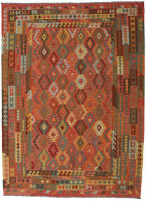 Kilim Afghan Old Style Rug 260X352 Authentic  Oriental Handwoven Large (Wool, Afghanistan)