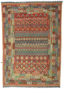 Kilim Afghan Old Style Rug 252X357 Authentic  Oriental Handwoven Large (Wool, Afghanistan)