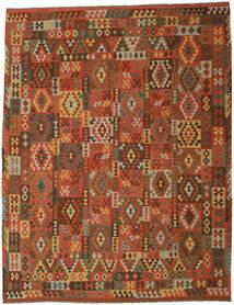 Kilim Afghan Old Style Rug 305X393 Authentic  Oriental Handwoven Brown/Dark Brown Large (Wool, Afghanistan)