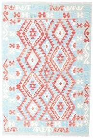 Kelim Afghan Old Style Matto 118X176 Itämainen Käsinkudottu Beige/Vaaleanpunainen (Villa, Afganistan)