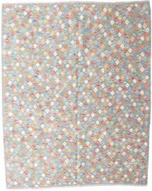 Kelim Afghan Old Style Teppich  159X196 Echter Orientalischer Handgewebter Hellgrau/Weiß/Creme (Wolle, Afghanistan)