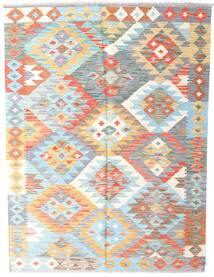 Kilim Afghan Old Style Rug 149X198 Authentic  Oriental Handwoven White/Creme/Light Grey (Wool, Afghanistan)