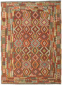 Kilim Afghan Old Style Rug 253X349 Authentic  Oriental Handwoven Large (Wool, Afghanistan)