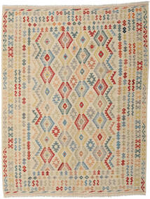 Kilim Afghan Old Style Rug 259X333 Authentic  Oriental Handwoven Beige/Light Grey Large (Wool, Afghanistan)
