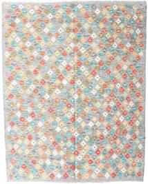 Kelim Afghan Old Style Teppich  150X200 Echter Orientalischer Handgewebter Hellgrau/Weiß/Creme (Wolle, Afghanistan)