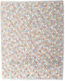 Kelim Afghan Old Style Teppich  156X193 Echter Orientalischer Handgewebter Hellgrau/Beige (Wolle, Afghanistan)