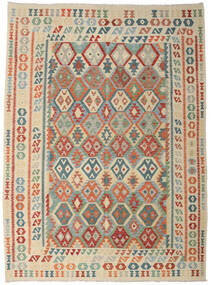 Kilim Afghan Old Style Rug 256X356 Authentic  Oriental Handwoven Light Grey/Beige Large (Wool, Afghanistan)