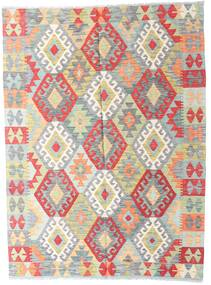 Kilim Afghan Old Style Rug 149X201 Authentic  Oriental Handwoven Light Grey/Beige (Wool, Afghanistan)