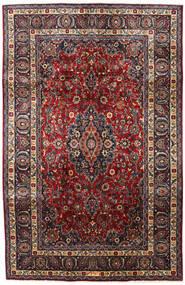 マシュハド 絨毯 197X304 オリエンタル 手織り 深紅色の/濃い茶色 (ウール, ペルシャ/イラン)