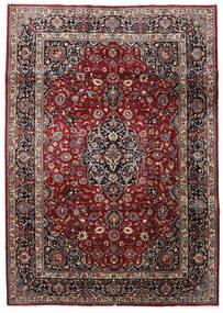 マシュハド 絨毯 199X281 オリエンタル 手織り 深紅色の/濃いグレー (ウール, ペルシャ/イラン)