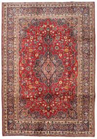 カシュマール 絨毯 198X287 オリエンタル 手織り 深紅色の/濃い茶色 (ウール, ペルシャ/イラン)