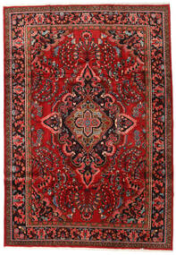 Lillian Matta 221X319 Äkta Orientalisk Handknuten Mörkröd/Mörkbrun (Ull, Persien/Iran)