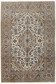 Keshan Rug 200X295 Authentic Oriental Handknotted Dark Grey/Light Grey (Wool, Persia/Iran)