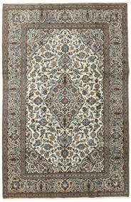 Keshan Rug 195X300 Authentic  Oriental Handknotted Dark Grey/Light Grey (Wool, Persia/Iran)