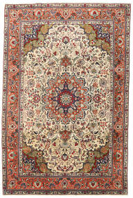 Tabriz Rug 197X300 Authentic  Oriental Handknotted Dark Brown/Light Brown (Wool, Persia/Iran)
