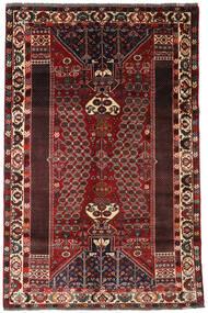 カシュガイ 絨毯 170X259 オリエンタル 手織り 深紅色の/濃い茶色 (ウール, ペルシャ/イラン)