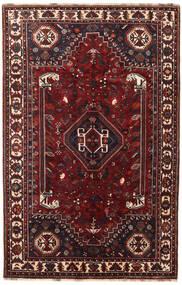 カシュガイ 絨毯 175X268 オリエンタル 手織り 深紅色の/黒 (ウール, ペルシャ/イラン)