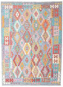 Kilim Afghan Old Style Rug 170X233 Authentic  Oriental Handwoven Light Purple/Beige (Wool, Afghanistan)