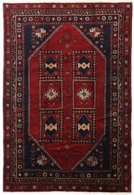 Klardasht Teppich  198X292 Echter Orientalischer Handgeknüpfter Dunkelrot (Wolle, Persien/Iran)