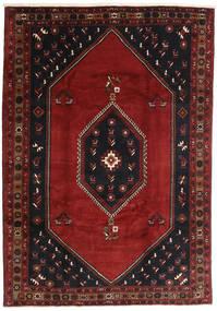 Klardasht Teppich  208X300 Echter Orientalischer Handgeknüpfter Dunkelrot/Schwartz (Wolle, Persien/Iran)
