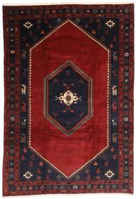 Klardasht Teppich  203X300 Echter Orientalischer Handgeknüpfter Dunkelrot/Schwartz (Wolle, Persien/Iran)