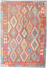 Kilim Afgan Old Style Dywan 179X254 Orientalny Tkany Ręcznie (Wełna, Afganistan)
