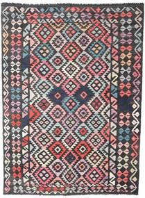 Kilim Afghan Old Style Rug 177X241 Authentic  Oriental Handwoven Black/Dark Grey (Wool, Afghanistan)
