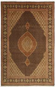 Tabriz 50 Raj Rug 203X311 Authentic  Oriental Handwoven Brown/Dark Brown/Light Brown (Wool/Silk, Persia/Iran)