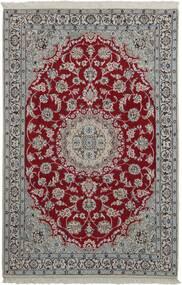 Nain 9La Szőnyeg 118X181 Keleti Kézi Szövésű Sötétszürke/Világosszürke (Gyapjú/Selyem, Perzsia/Irán)