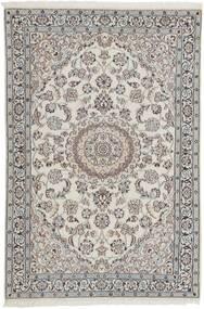 Nain 9La Matto 116X180 Itämainen Käsinkudottu Vaaleanharmaa/Tummanharmaa (Villa/Silkki, Persia/Iran)